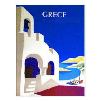 grece Vintage Postkarte