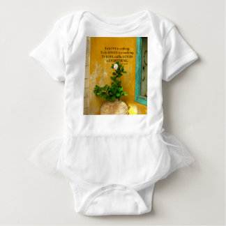 greekproverbInspirational Liebezitat Baby Strampler