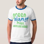 green planet - protect nature and animals -.- tshirts