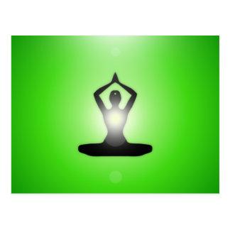 GreenMe Zen-Meditation Postkarte