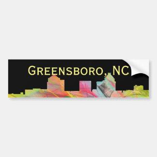 GREENSBORO, NC WB1 AUTOAUFKLEBER