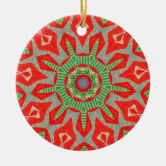 Greensleeves Fraktal Keramik Ornament