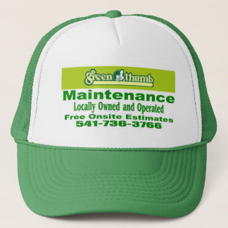 Greenthumb Wartung Truckerkappe