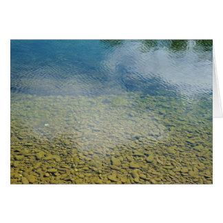 GreetingCard: Einladender Fluss Karte