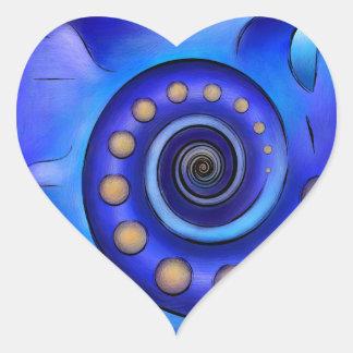 Grefenissa V1 - Raumkunst Herz-Aufkleber