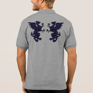 Greif-Wappen Polo Shirt