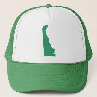 Greifen grüner Staats-Verschluss Delawares zurück Truckerkappe