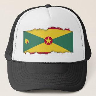 Grenada-Flagge Truckerkappe