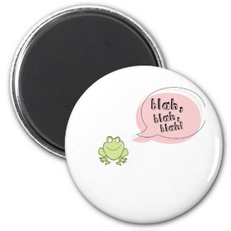 Grenouille fade magnet rond 8 cm