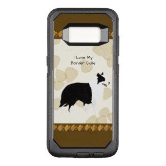 Grenzcollie auf TAN-Blätter OtterBox Commuter Samsung Galaxy S8 Hülle