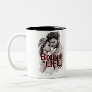 Grenze für Leben-Kaffee-Tasse Zweifarbige Tasse