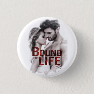 Grenze für Leben-Knopf Runder Button 3,2 Cm