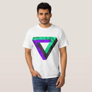 Grenzenloses investiertes Dreieck. Mit Fuego. T-Shirt