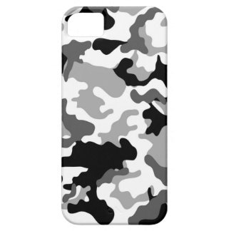 Grey Camo iPhone 5 Case