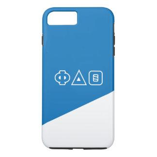 Grieche-Buchstaben des Phi-Deltatheta-  iPhone 8 Plus/7 Plus Hülle