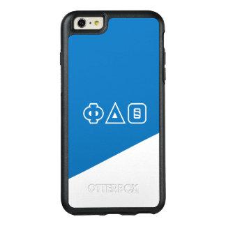 Grieche-Buchstaben des Phi-Deltatheta-  OtterBox iPhone 6/6s Plus Hülle