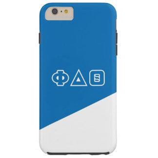 Grieche-Buchstaben des Phi-Deltatheta-  Tough iPhone 6 Plus Hülle
