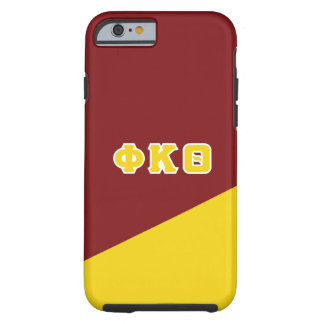 Grieche-Buchstaben des Phi-Kappa-Theta-  Tough iPhone 6 Hülle