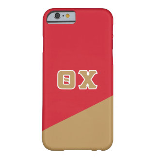 Grieche-Buchstaben des Theta-Chi-| Barely There iPhone 6 Hülle