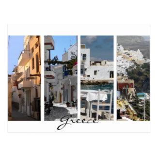 Griechenland-Inseln Postkarte