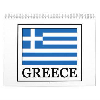 Griechenland-Kalender Wandkalender