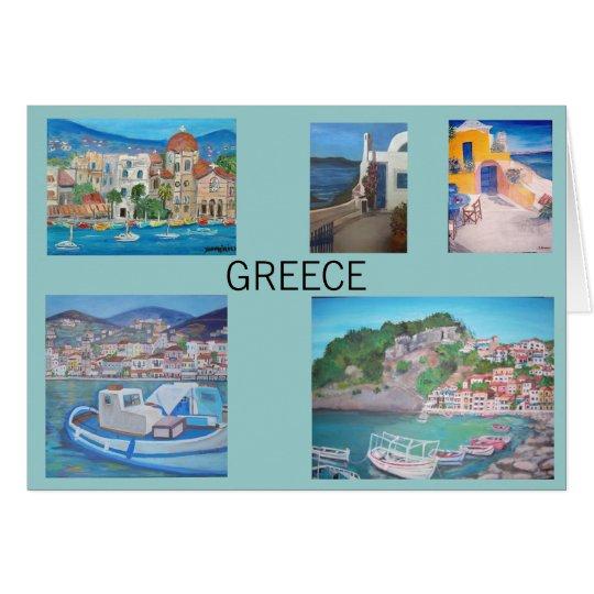 Griechenland-Karte Karte