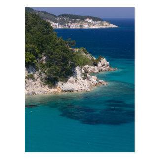 GRIECHENLAND, nordöstliche ägäische Inseln, SAMOS, Postkarte