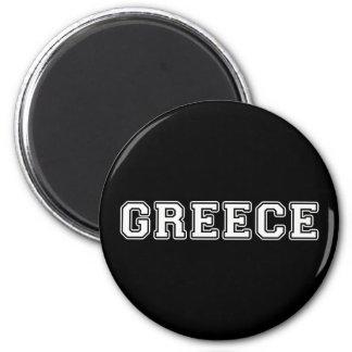 Griechenland Runder Magnet 5,7 Cm