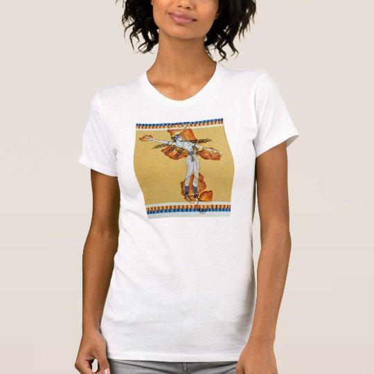 griechische alte Malereifresko-Kunst-Replik T-Shirt
