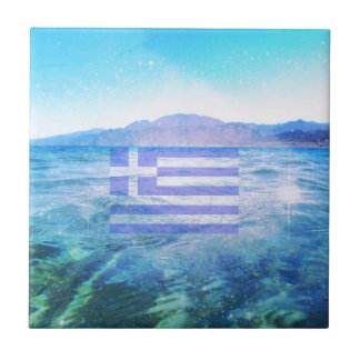 GRIECHISCHE FLAGGE FLIESE