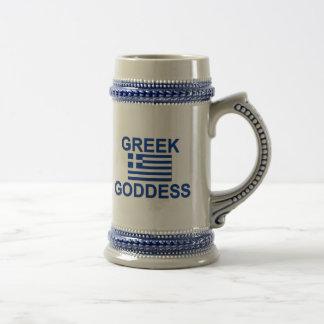 Griechische Göttin Bierglas