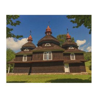 Griechische katholische Kirche, Nizny Komarnik, Holzleinwände
