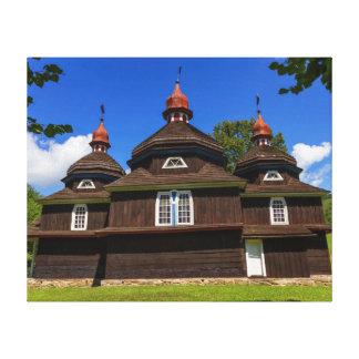 Griechische katholische Kirche, Nizny Komarnik, Leinwanddrucke