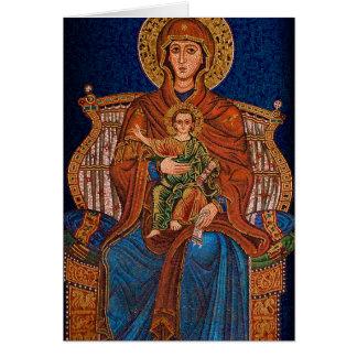 Griechische orthodoxe Grußkarte