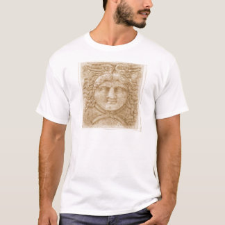 Griechischer Gott Hermes STELLEN altes Bild von T-Shirt