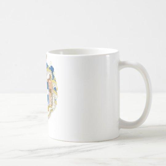 Griechisches Wappen - Griechenland Kaffeetasse