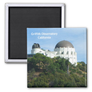 Griffith-Observatorium-Magnet! Quadratischer Magnet
