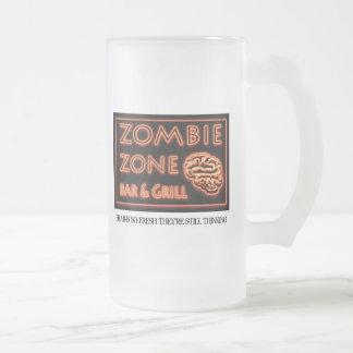 Grill-Gehirn-so neues noch denken des Zombie-Bar-N Mattglas Bierglas