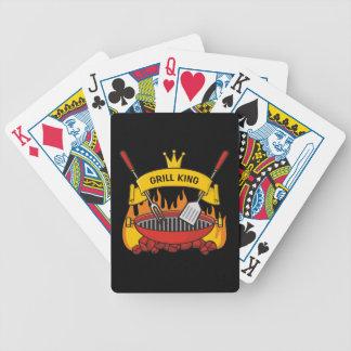 Grill-König Bicycle Spielkarten