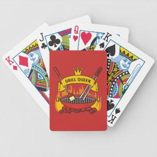 Grill-Königin Bicycle Spielkarten