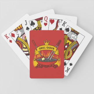 Grill-Königin Spielkarten