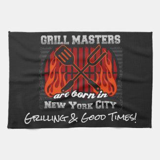 Grill-Meister sind in New York City jeder Küchentuch