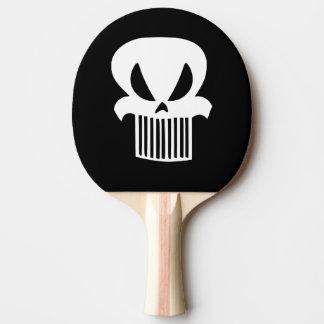 Grill-Schädel-Klingeln Pong Paddel Tischtennis Schläger