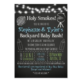 GRILLEN Baby-q Baby-Duschen-Einladung und Karte