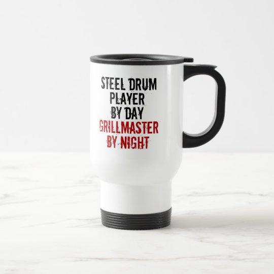 Grillmaster Stahltrommel-Spieler Edelstahl Thermotasse