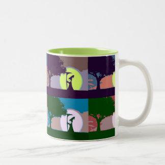 Grimmige Jake Pop-Kunst-Tasse Zweifarbige Tasse
