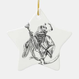 Grimmige Keramik Ornament