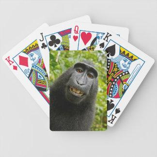 Grinsender Affe Bicycle Spielkarten