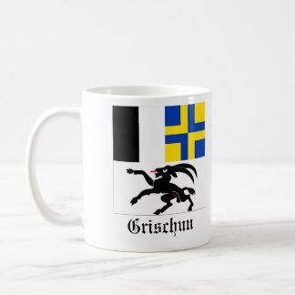 Grischun, Svizra Bandiera Flaggen Tasse