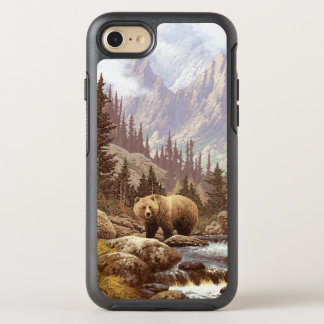 Grizzlybär-Landschaft OtterBox Symmetry iPhone 8/7 Hülle